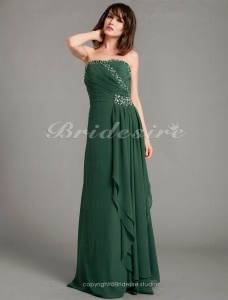 Sheath/Column Chiffon Floor-length Sweetheart Evening Dress