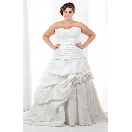 Ball Gown Halter Sweetheart Sleeveless Chapel Train Satin Taffet