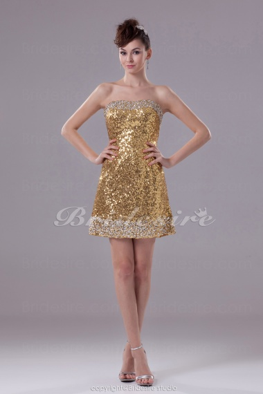 Gold Homecoming Dresses