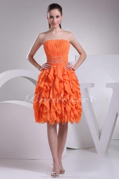 Orange Homecoming Dresses