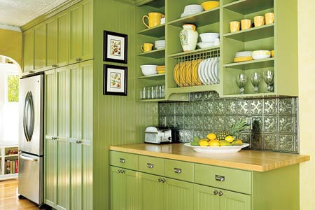 No, I Am Not Referring To Its Color. I Am Talking About The Ways On How You  Keep Your Kitchen Clean And Environment Friendly. To Have A Green Kitchen,  ...