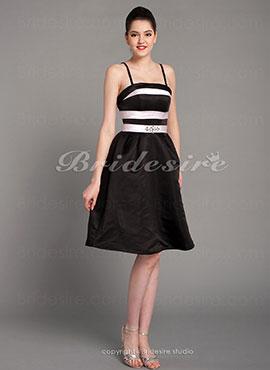 de4210a2986 A-line Satin Short Mini Bridesmaid Dress With Crystal Detailing