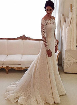9c5f4f49e065b Bridesire - Dresses With Sleeves For Brides: Vintage And Elegant ...