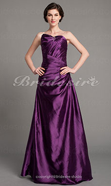 Trumpet/ Mermaid Charmeuse Floor-length Sweetheart Evening Dress