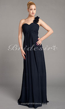 A-line Chiffon Floor-length Sweetheart Mother Of The Bride Dress