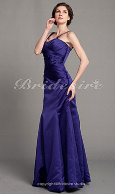 Trumpet/Mermaid Satin Floor-length Sweetheart Mother Of The Bride Dress