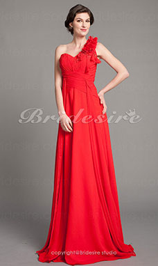Sheath/Column Chiffon Floor-length Sweetheart Mother of the Bride Dress