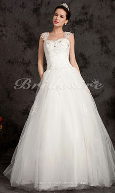 Ball Gown Floor-length Tulle Sweetheart Wedding Dress