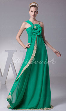 Sheath/Column Straps Sweep/Brush Train Sleeveless Chiffon Dress
