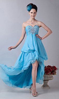 Sheath/Column Sweetheart Short/Mini Taffeta Homecoming Dress