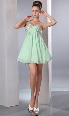 Sheath/Column Bateau Short/Mini Satin Holiday Dress