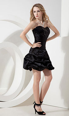 Sheath/Column V-neck Short/Mini Chiffon Graduation Dress