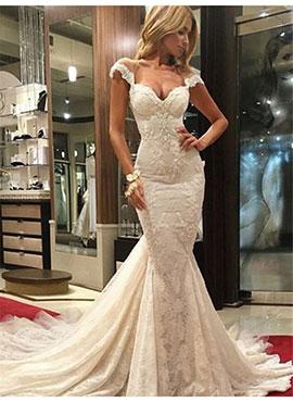 Bridesire Mermaid Silhouette Gorgeous Dresses For All Women Bridesire