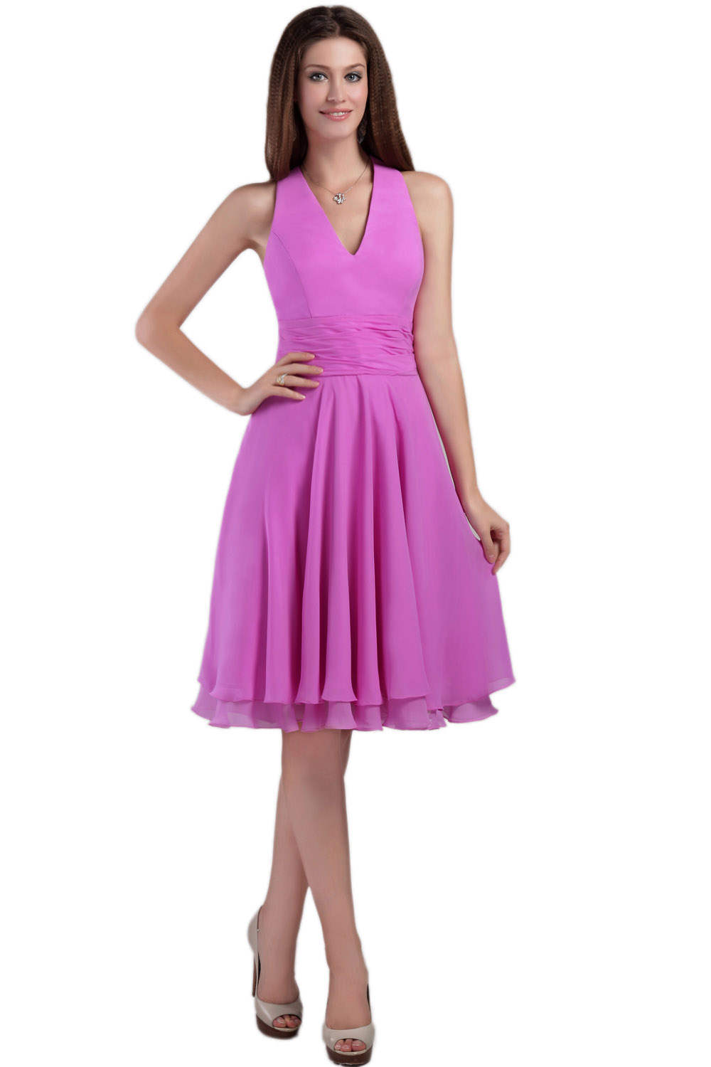 A-line Sweetheart Ankle-length Taffeta Lace Graduation Dress