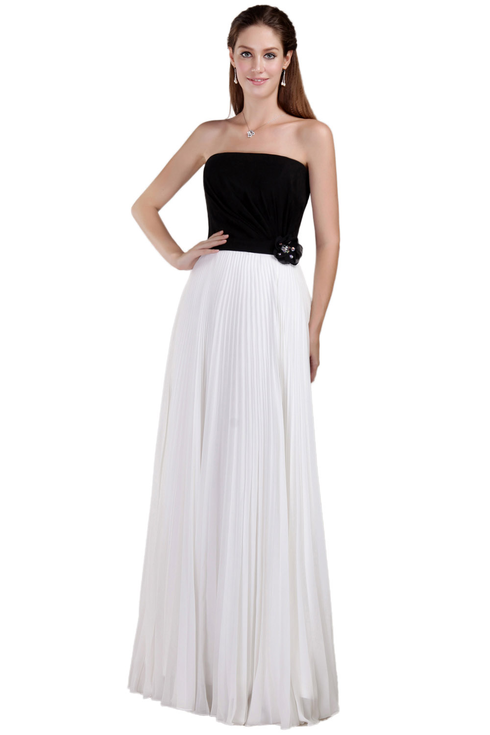 Princess One Shoulder Short/Mini Satin Tulle Evening Dress