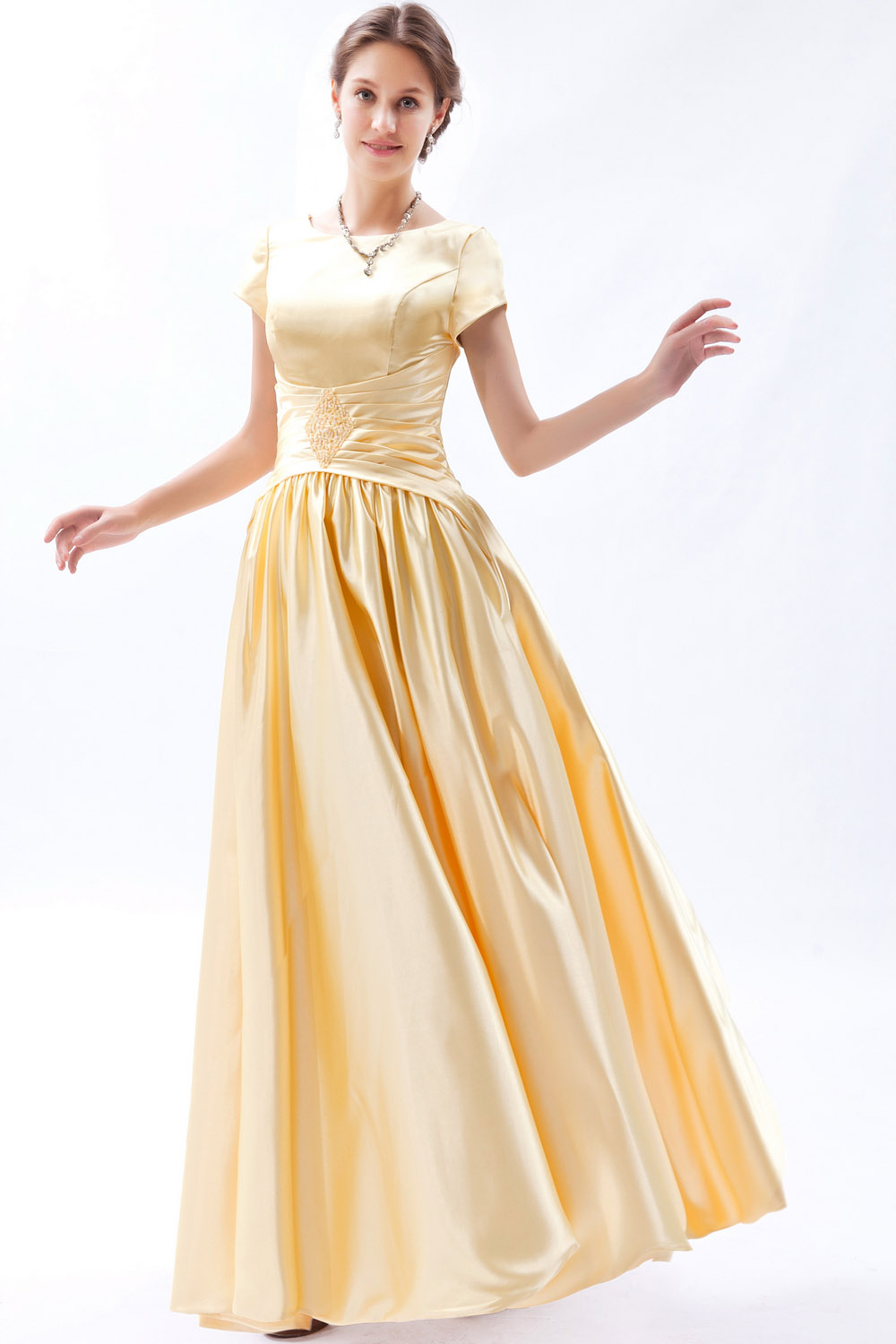 A-line Sweetheart Asymmetrical Organza Prom Dress