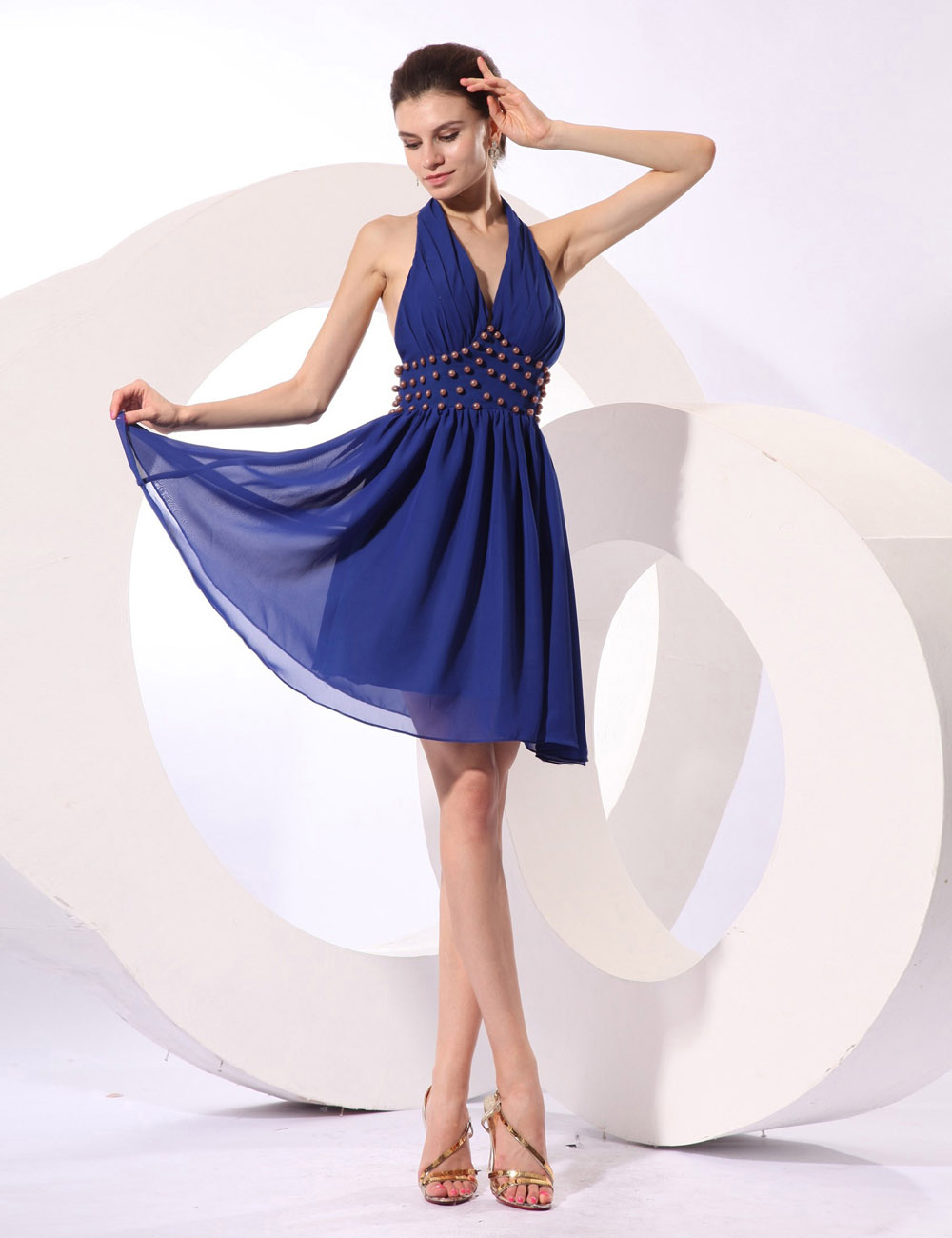 Sheath/Column Strapless Short/Mini Taffeta Prom Dress