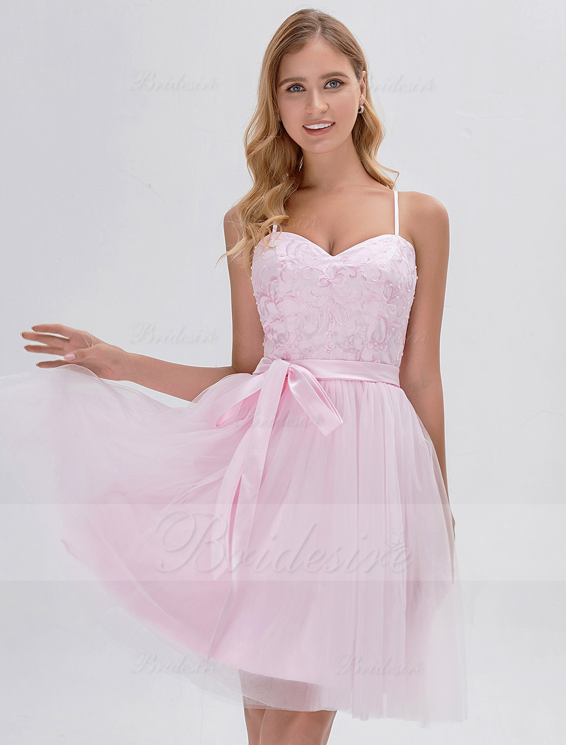 A-line Sweetheart Short/Mini Prom Dress